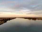 Looking North From Rio Vista Bridge