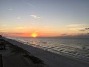 Sunrise in Gulf Shores, AL
