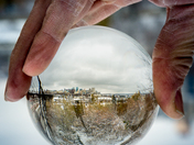 City Snowglobe