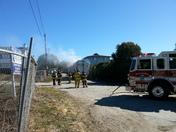 Garbage truck fire in Aptos