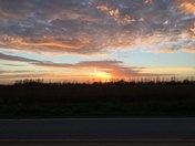 sunset near Lehigh
