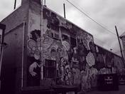 Purple overcast graffiti fun