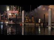 boat fire Riviera Beach Marina