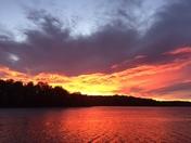 Sunrise over Lake Robinson