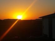 Sunrise over Norwalk