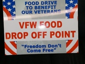 Local Van Buren Business supports VFW Veterans Thanksgiving