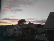 Cloudy sunset time-lapse over Jefferson Ave, Salem, MA