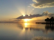 Sunrise on the Indian River, Titusville