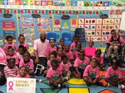 Think Pink!! Mr. Hoskins PreK Class