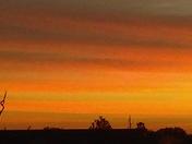 Beautiful Sunrise Today