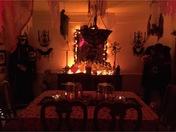 Amazing indoor Halloween display !
