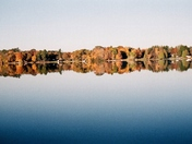 """October Autumn Reflections..."" -Spencer Lake- Waupaca, WI"