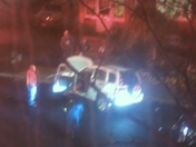 Night time car crash on Jefferson Ave Salem