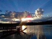 Lake at Tamassee Nob
