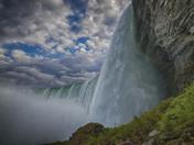 The Niagara River Falling