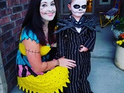 The Pumpkin King and his Sally