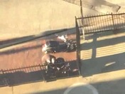 Two Men Stealing Moped Outside of Copley Place