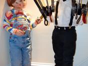 Edward ScissorHands and Chucky