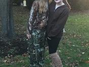 Huntress & the deer
