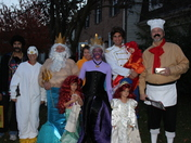 Happy Halloween from the entire Little Mermaid clan!