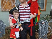 Pirates and parrot