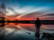 Sunrise at Gray's Lake Park