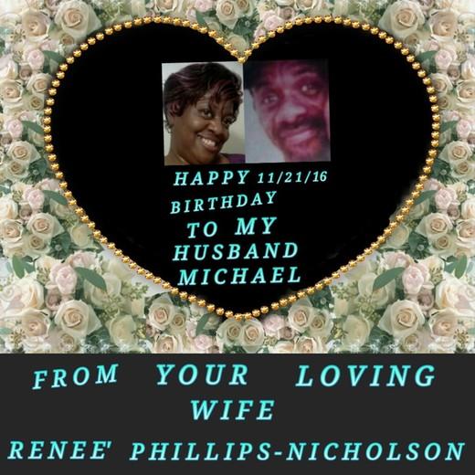 Happy Birthday To My Husband In Heaven