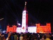 Parliament Hill Light Show