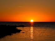 Sunset on Lake Manitoba(2)
