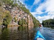 Kayaking Barron Canyon
