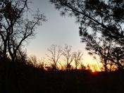 Sunrise today in Grand Marsh
