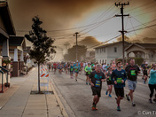 Start of Half marathon