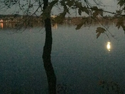 Moon over the Susquehanna.