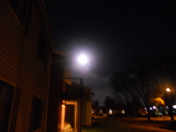 Super moon in Waukesha