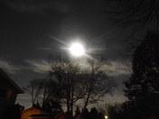 Super Moon Over Wauwatosa