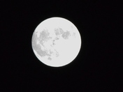 Supermoon over Norwood!