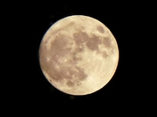 Almost full Super Moon - 99.7% full