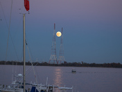 Super Moon Over the Severn River (Annapolis)