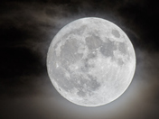 Super moon photos from this evening