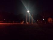 Super Moon over 9/11 Memorial in North Dighton