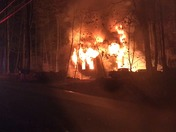 Fire at 69 East Road Weare New Hampshire