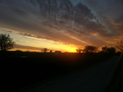 Sunsets in Franklin County KS