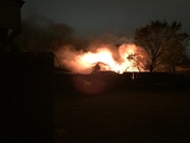 House on fire about 2:00 am