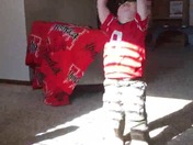 Liam Mikeal - Mimi and Papas TRU-year old Husker Fan!
