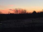 Sunrise in Centerview MO