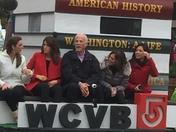 WCVB Float Plymouth Parade