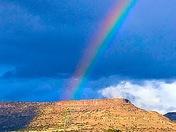 Beautiful rainbow over San Fidel NM