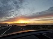 Sunset in Carmel 11-25-16