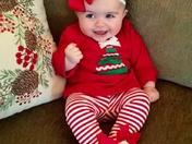Cameran Clarke Martin's First Christmas