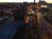 Holiday Lights Downtown Omaha